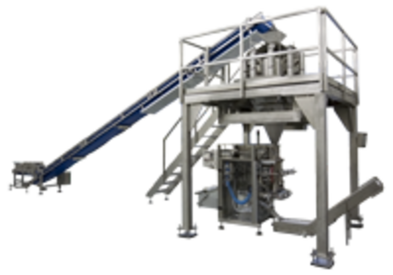 Cottage cheese packaging line